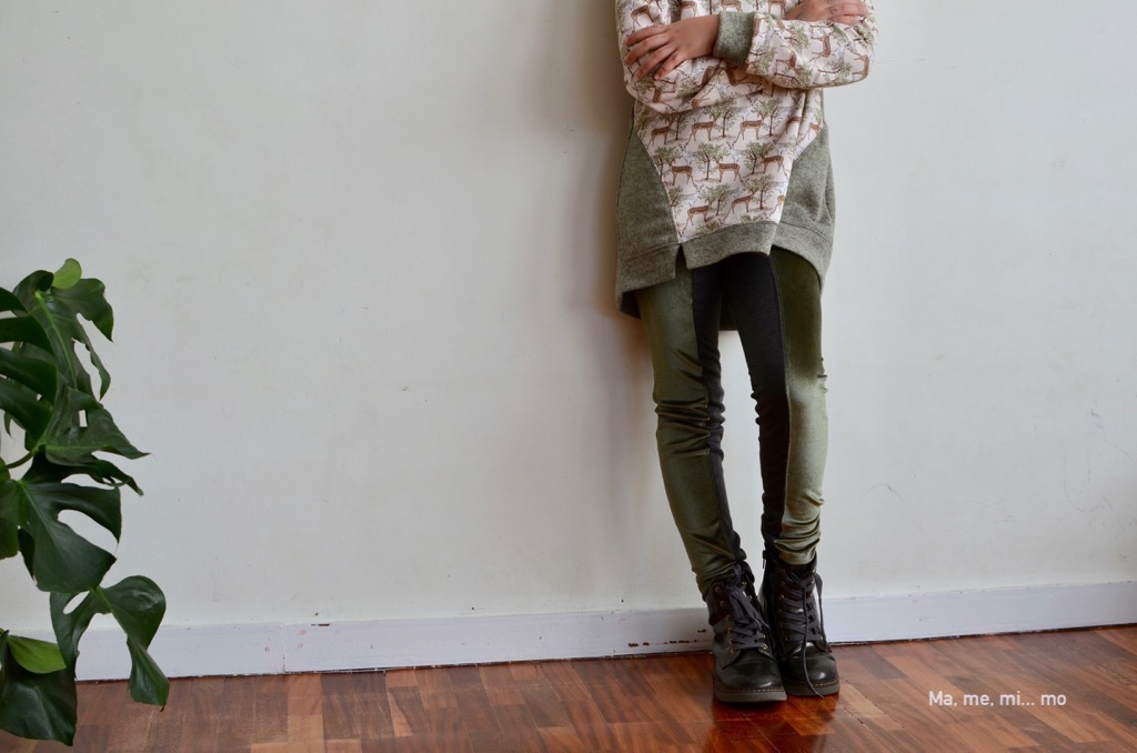 Dressage leggings: un patrón tres prendas 3/3