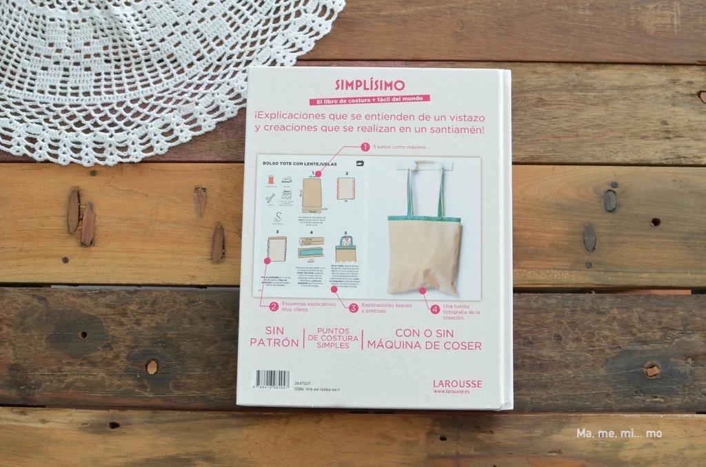 Simplísimo. El libro de costura + fácil del mundo – ma, me, mi… mo