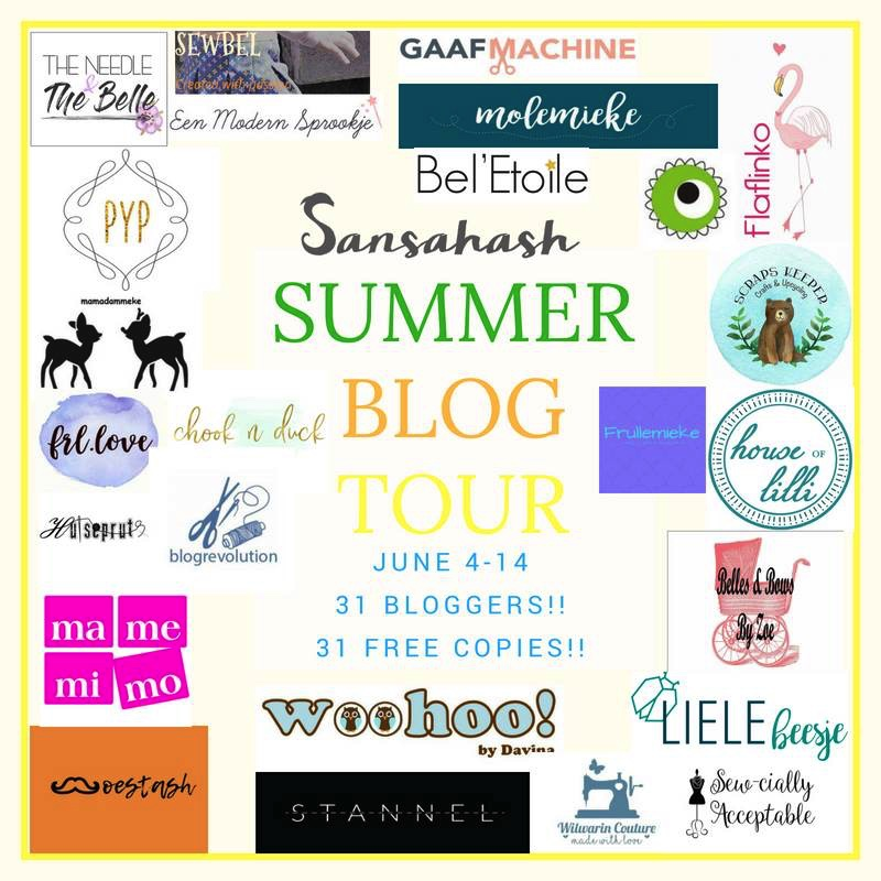 Sansahash Summer Blog Tour 2018