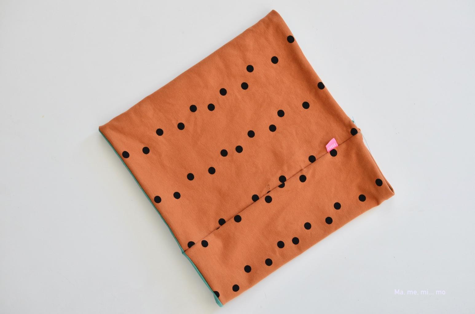 tutorial braga cuello mamemimo cerrar agujero con puntada invisible