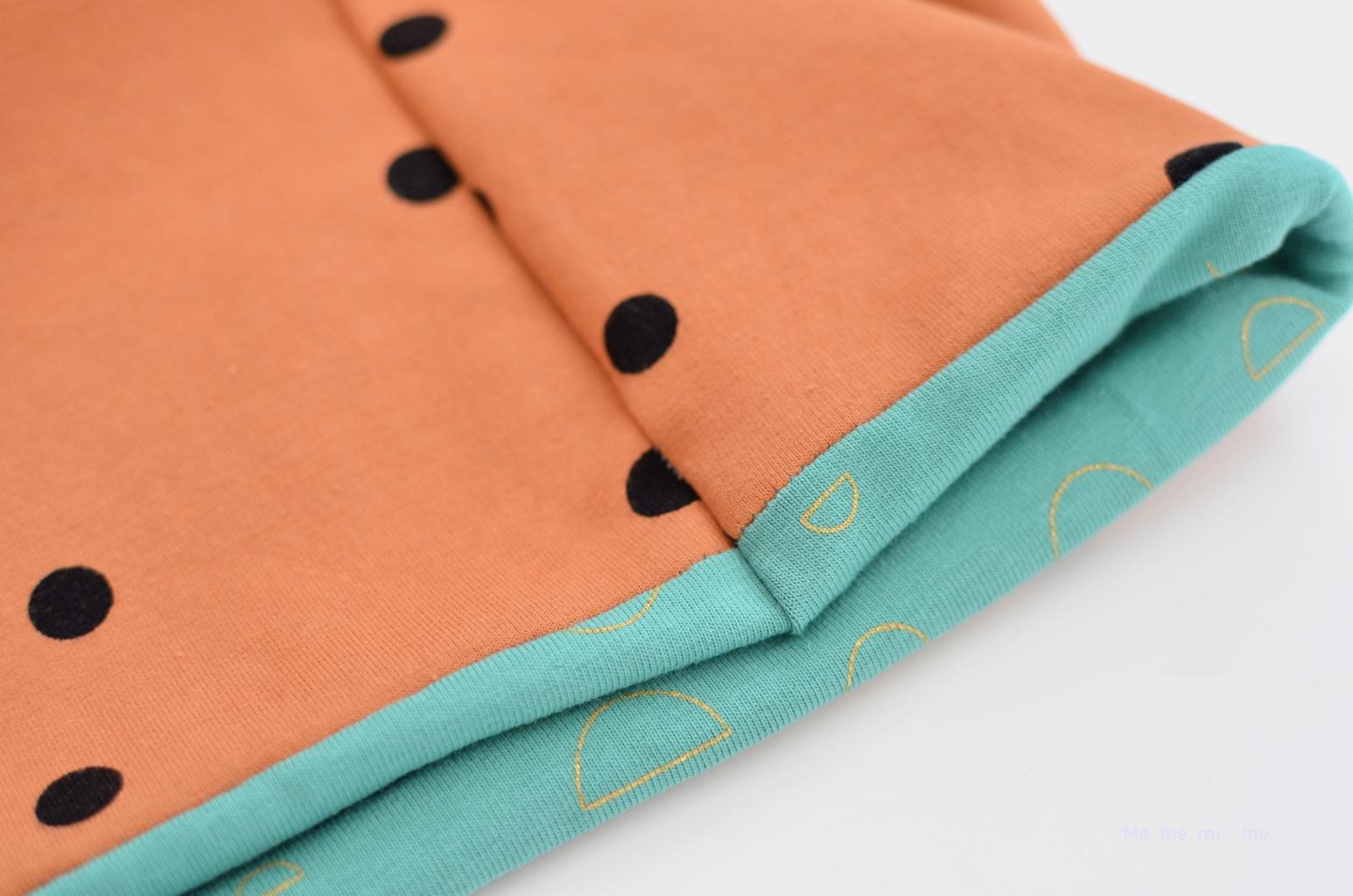 tutorial braga cuello mamemimo detalle costuras casadas