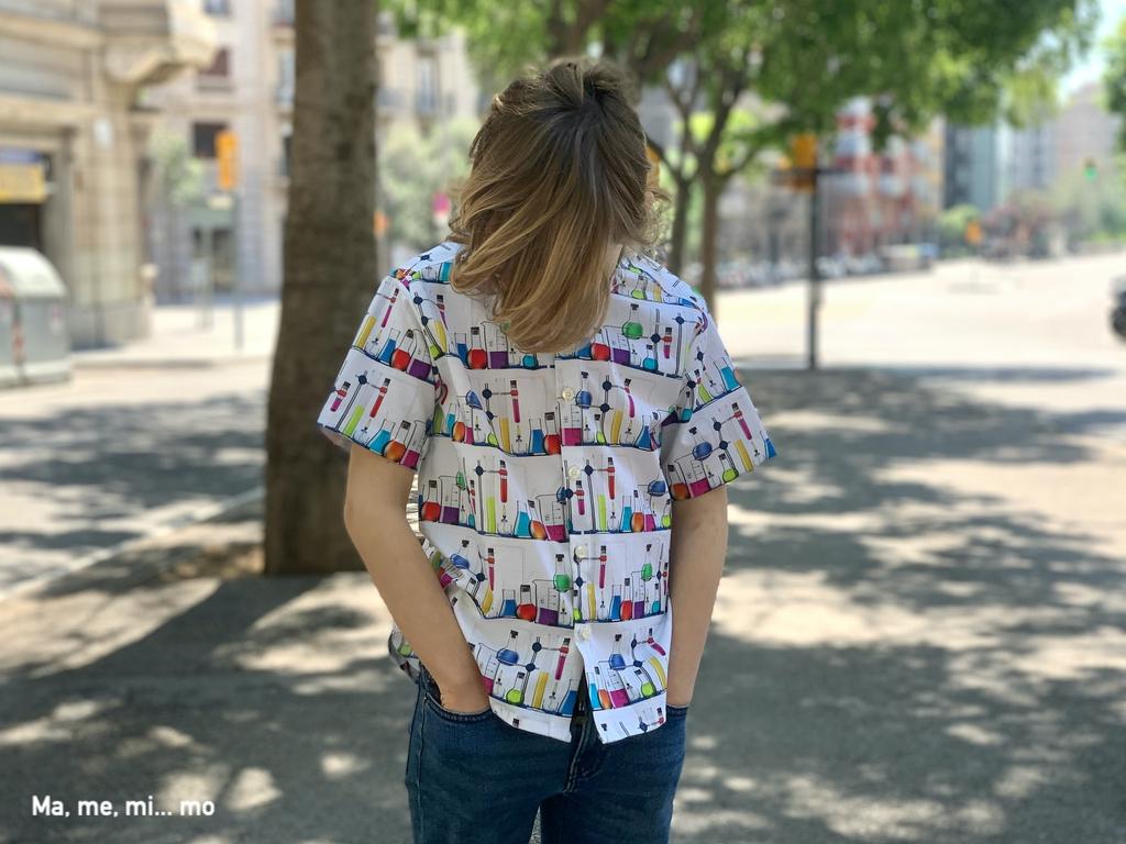 Camisa para niños científicos