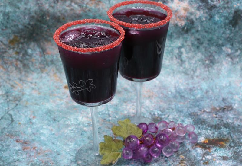 عصير العنب الاسود