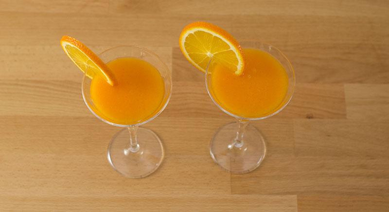 عصير الجزر بالبرتقال