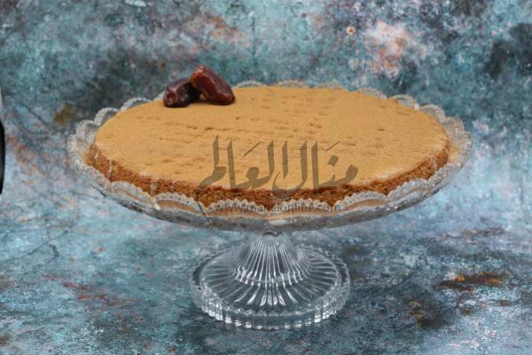 بسبوسة بالتمر والقرفة رمضان 2019