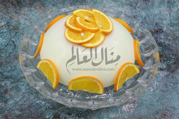 مهلبية الحليب والبرتقال رمضان 2019