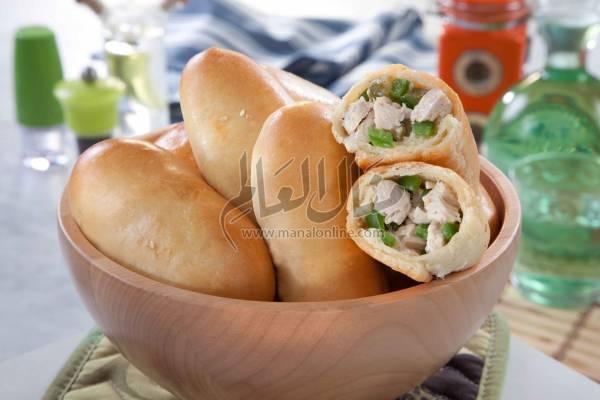 ساندويش شاورما الدجاج