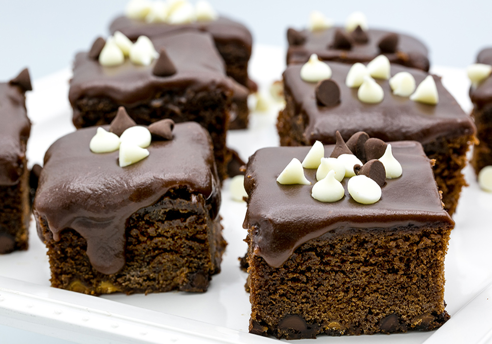 كيك الشوكولاتة بالشوكولاتة