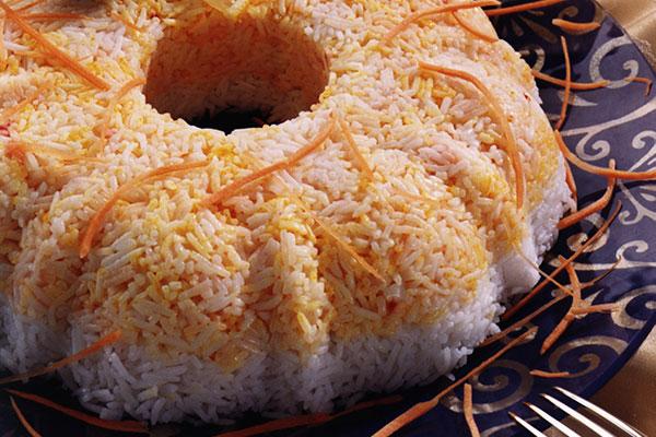 أرز مع اللحم المبهر