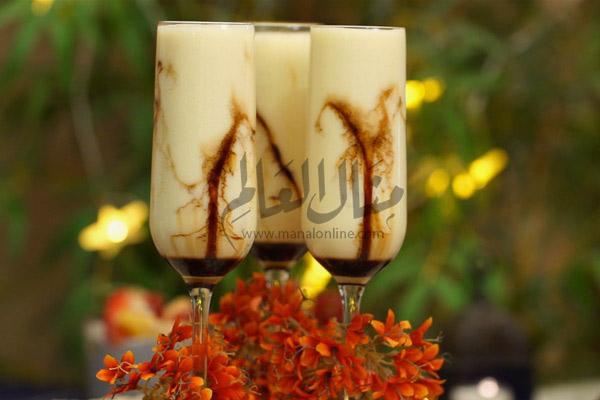 مشروب الكريم كراميل رمضان 2019
