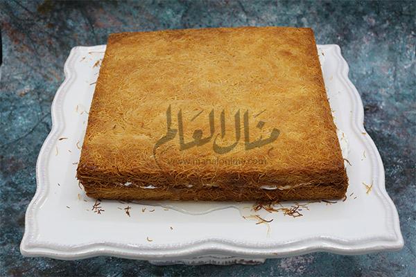 كنافة بالكريمة رمضان 2019