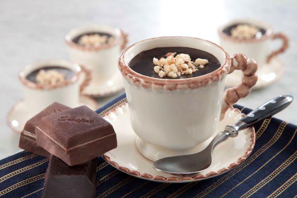 مهلبية الشوكولاتة بالقهوة