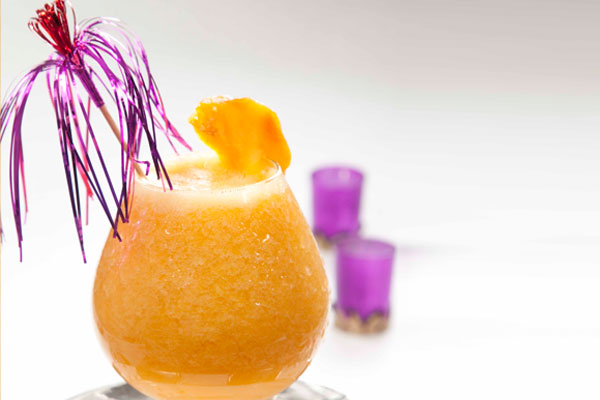 عصير الخوخ والمشمش