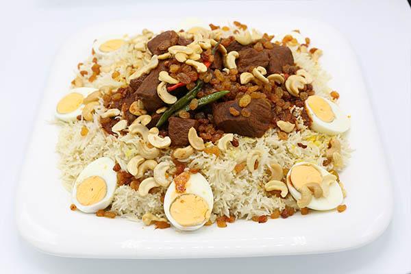 أرز المدينة باللحم