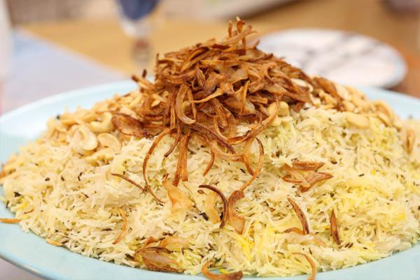 أرز بسمتي بالبهارات