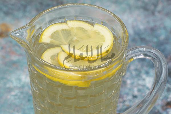 شاي الزنجبيل المثلج رمضان 2019