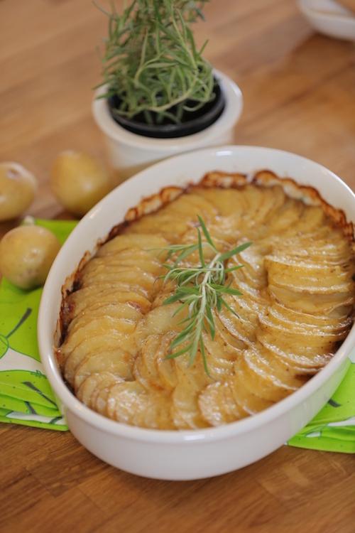 صينية البطاطس والبصل
