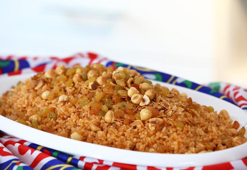 أرز بالمكسرات 2