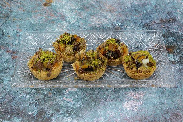اكواب الكنافة بالقشطة رمضان 2019