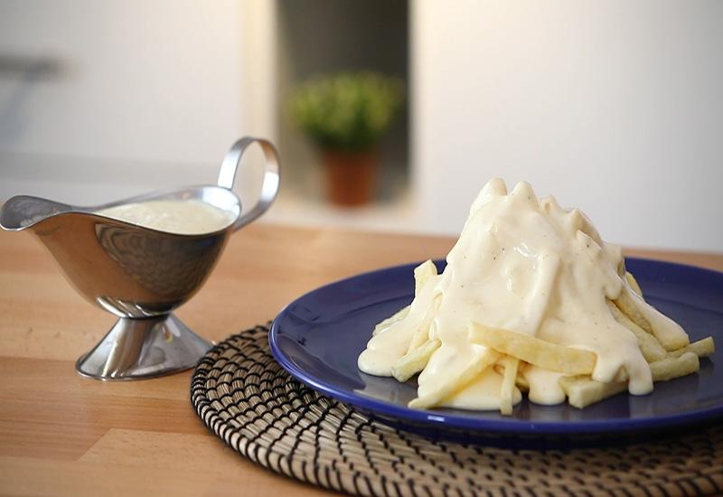 صلصة الجبن الشيدر