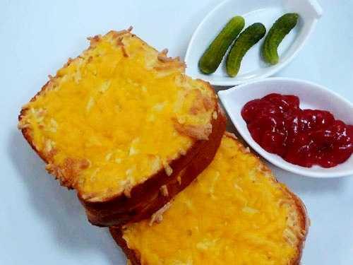 ساندويتش الجبن المحمص
