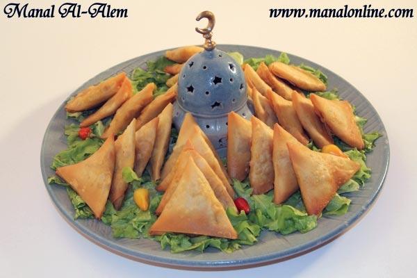 سمبوسك بالدجاج والجبن رمضان 2012