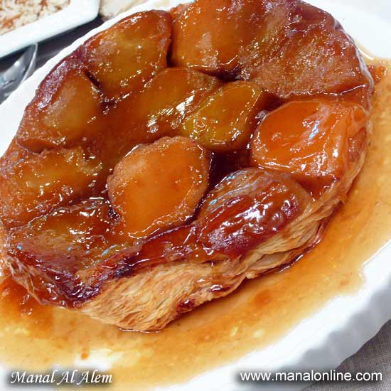 فطيرة التفاح المقلي