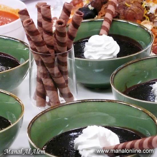 حلو موس الشوكولاتة