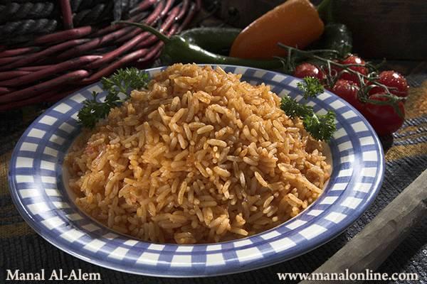 الأرز المكسيكي