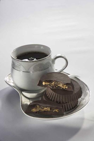 شوكولاتة بزبدة الفستق