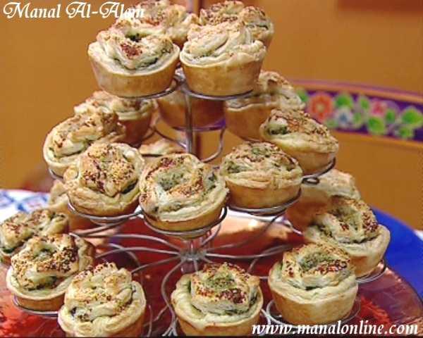 تارت السبانخ بالجبن رمضان 2011
