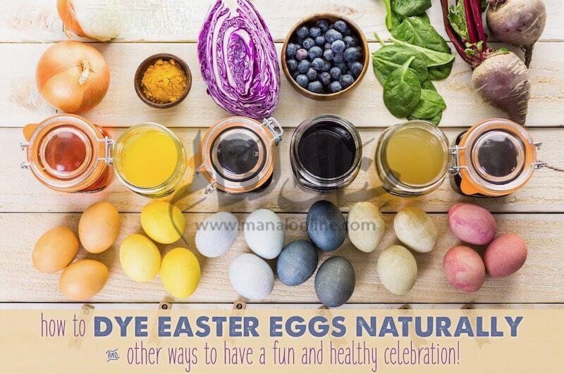 طرق تلوين بيض شم النسيم بألوان طبيعية وصحية من مطبخك - المشاهدات : 707