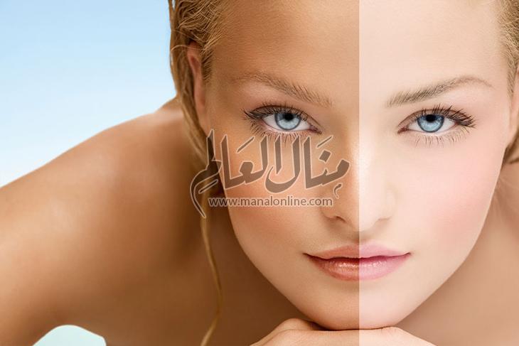 كيفية استعادة لون البشرة الأصلي