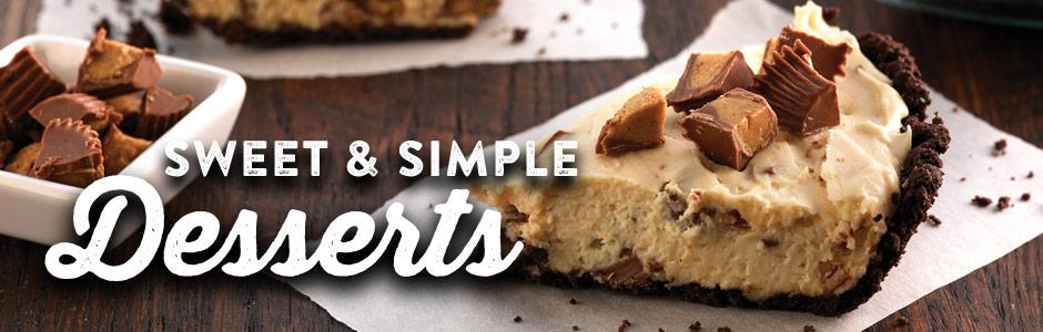 خليك فى البيت.. 4 وصفات حلويات سريعة من منال العالم - المشاهدات : 2.89K