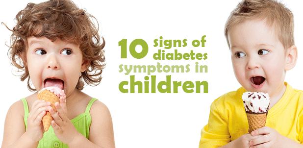 4 علامات تدل على أن طفلك قد يصاب بمرض السكر