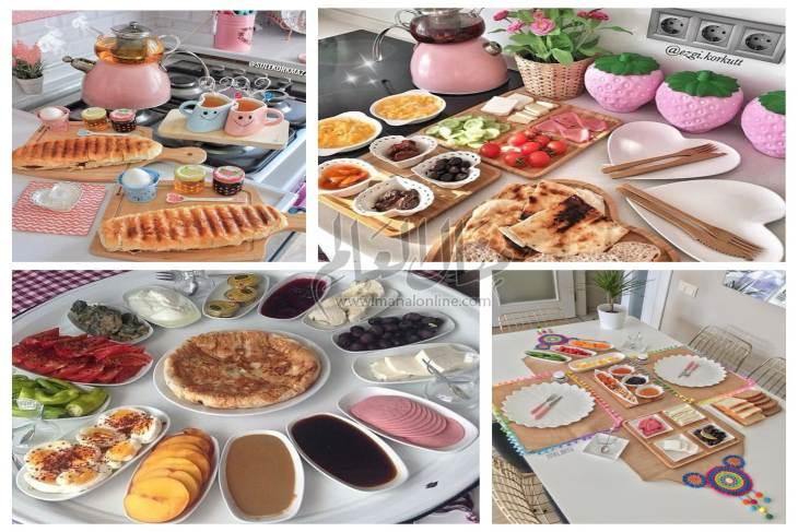 أفكار لتقديم الإفطار على طريقة المطبخ التركي
