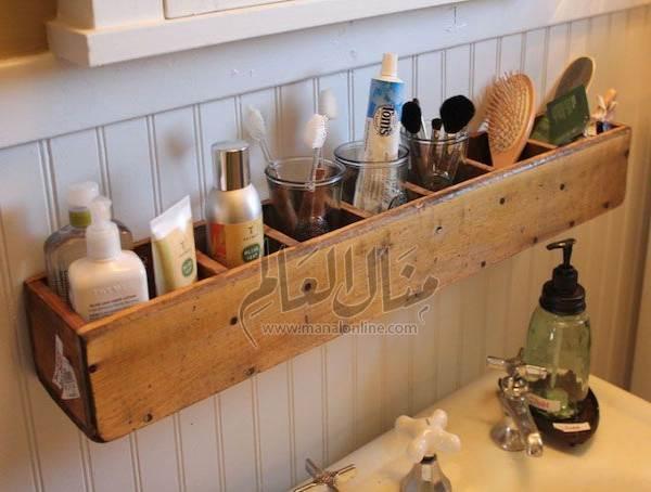 أفكار رائعة لإستغلال المساحات في الحمام-7