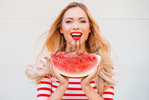 أكتشفى فوائد البطيخ المذهلة للجسم و للرجيم - المشاهدات : 1.27K