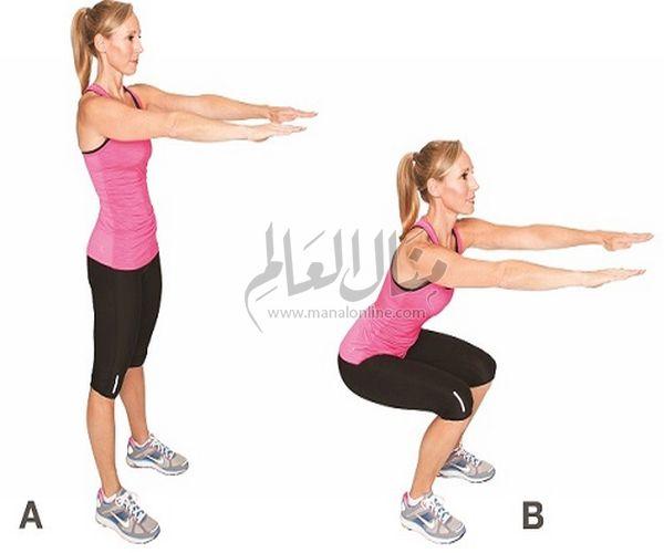 3 تمارين رياضية بسيطة ونتائجها مذهلة في خسارة الوزن-0