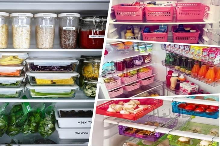 بالصور: أفكار لتنظيم الثلاجة