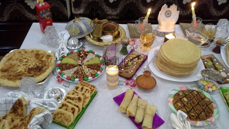الزردة والرشتة و البركوكس والمغرف من أشهر الأكلات علي مائدة المولد النبوي هذا العام - المشاهدات : 1.35K