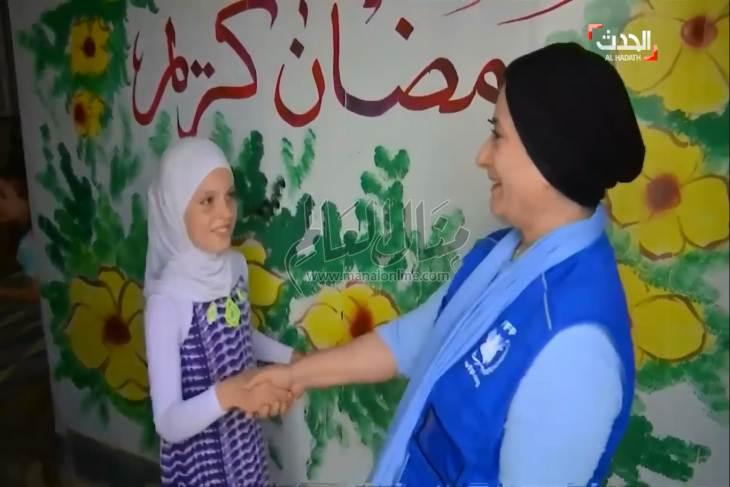 الشيف منال العالم تزور مخيم الزعتري - المشاهدات : 2.36K