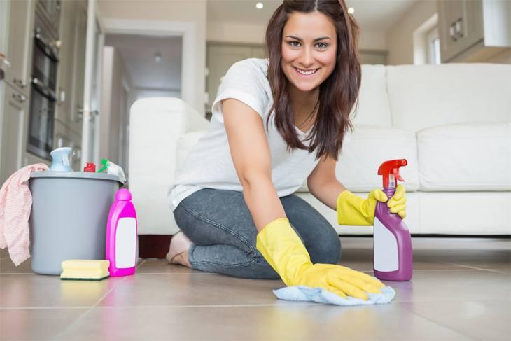 5 حيل لتنظيف المنزل في 15 دقيقه
