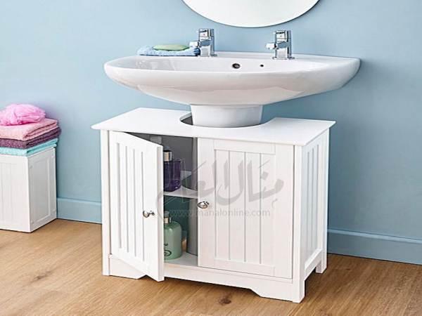 أفكار رائعة لإستغلال المساحات في الحمام-1