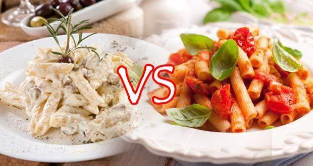 """للحفاظ على الوزن.. أيهما أفضل وأقل فى السعرات الحرارية """"صلصة الباستا البيضاء أم الحمراء"""" ؟ - المشاهدات : 111"""