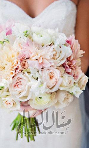 ياجمال الورد! وخاصةً إن كان ورد العروس-2
