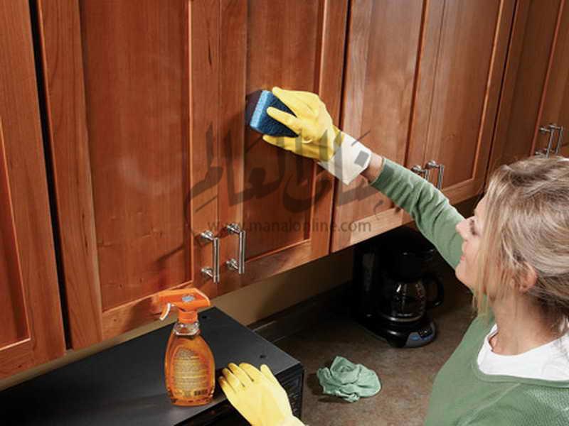 كيف تزيلين الدهون من خشب المطبخ؟ - المشاهدات : 747