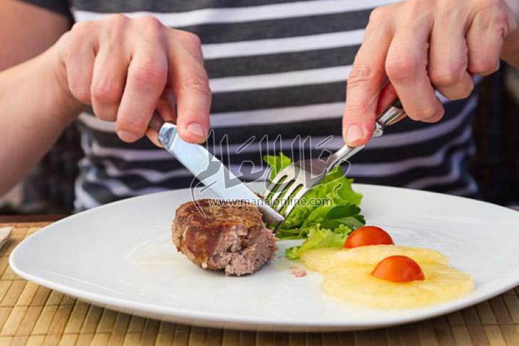 رموز ومعاني وراء الشوكة والسكينة  - المشاهدات : 15.1K