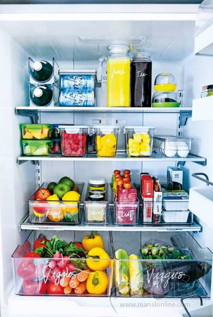 بالصور: أفكار لتنظيم الثلاجة-3