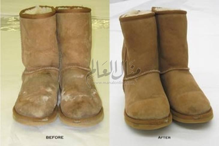 نظفي أحذية الشتاء بخطوات سريعة ومذهلة